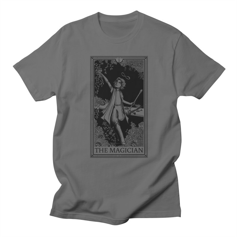 The Young Magician Men's T-Shirt by JordanaHeney Illustration