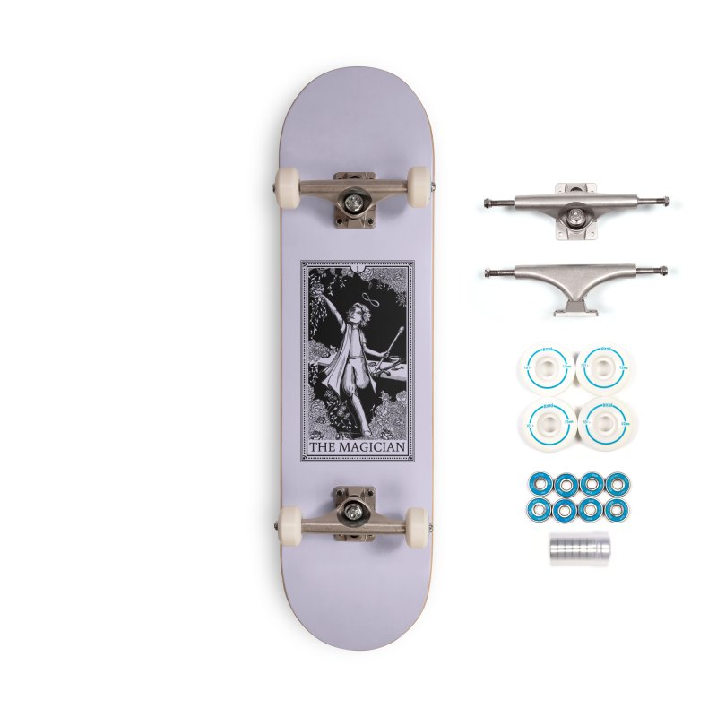The Young Magician Accessories Skateboard by JordanaHeney Illustration