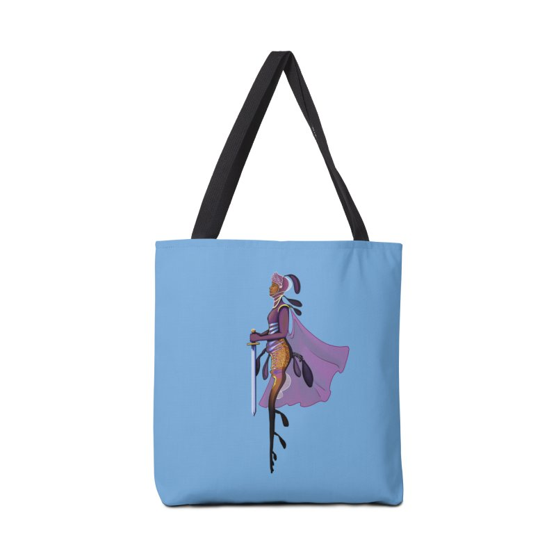 Sea Dragon Knight Accessories Bag by JordanaHeney Illustration