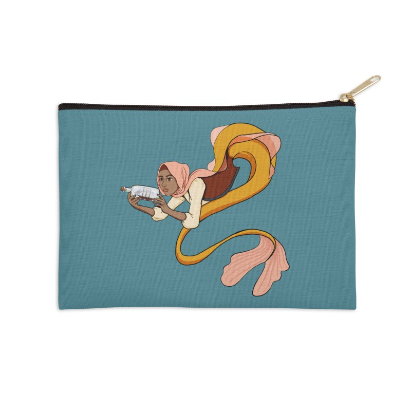 The Collector Accessories Zip Pouch by JordanaHeney Illustration