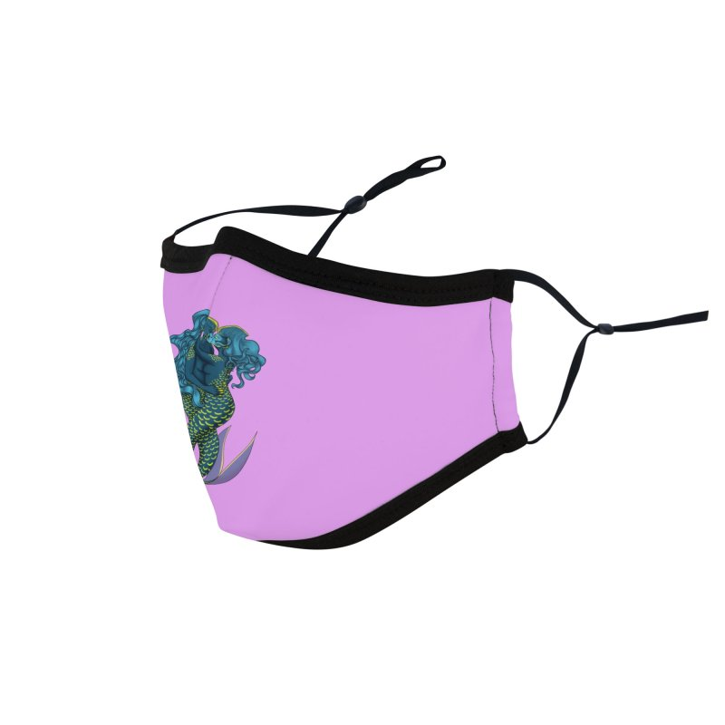 Romance Under the Sea Accessories Face Mask by JordanaHeney Illustration