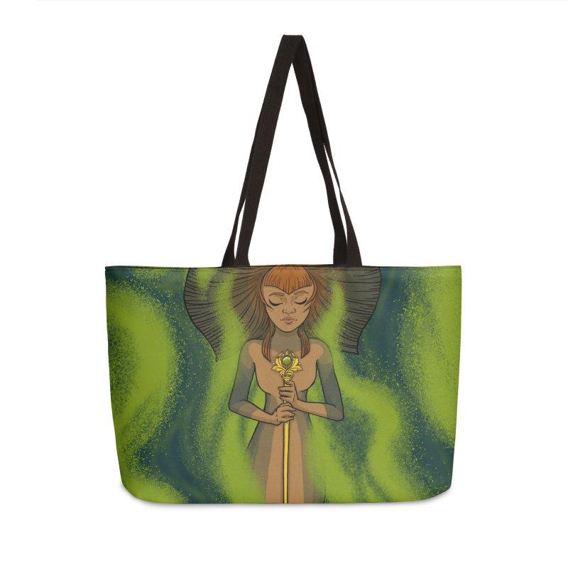 Mossy Sleeper Accessories Bag by JordanaHeney Illustration
