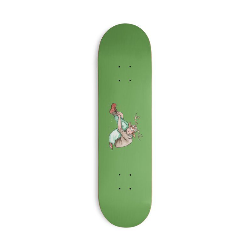 Blitzen Accessories Deck Only Skateboard by JordanaHeney Illustration