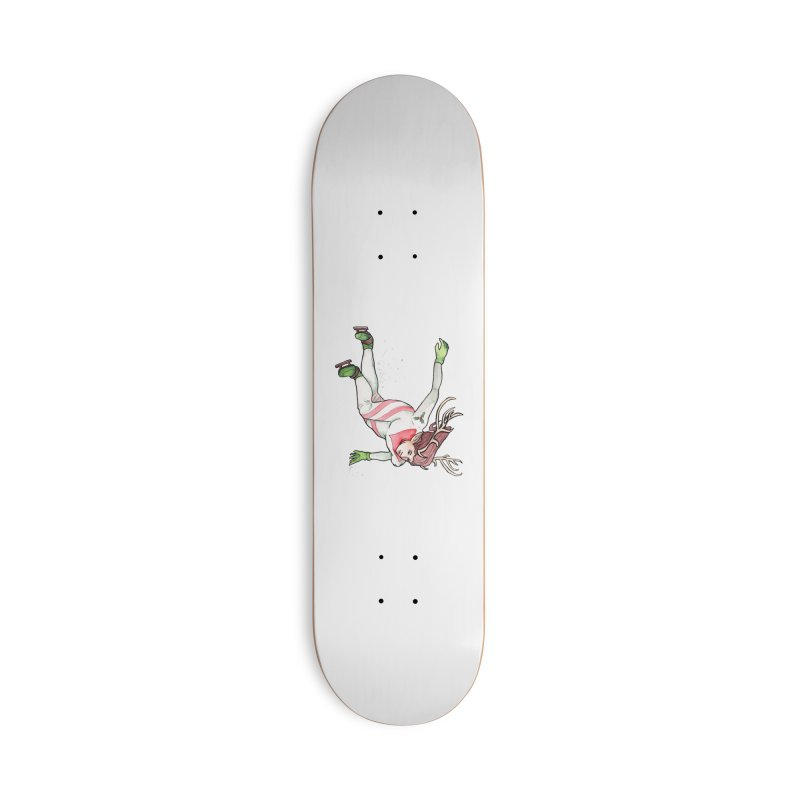 Dasher Accessories Deck Only Skateboard by JordanaHeney Illustration