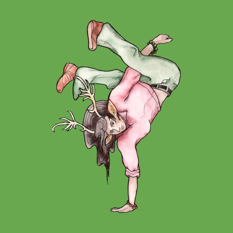 Dancer by JordanaHeney Illustration