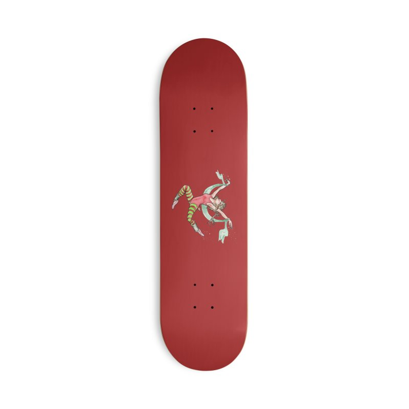 Prancer Accessories Deck Only Skateboard by JordanaHeney Illustration
