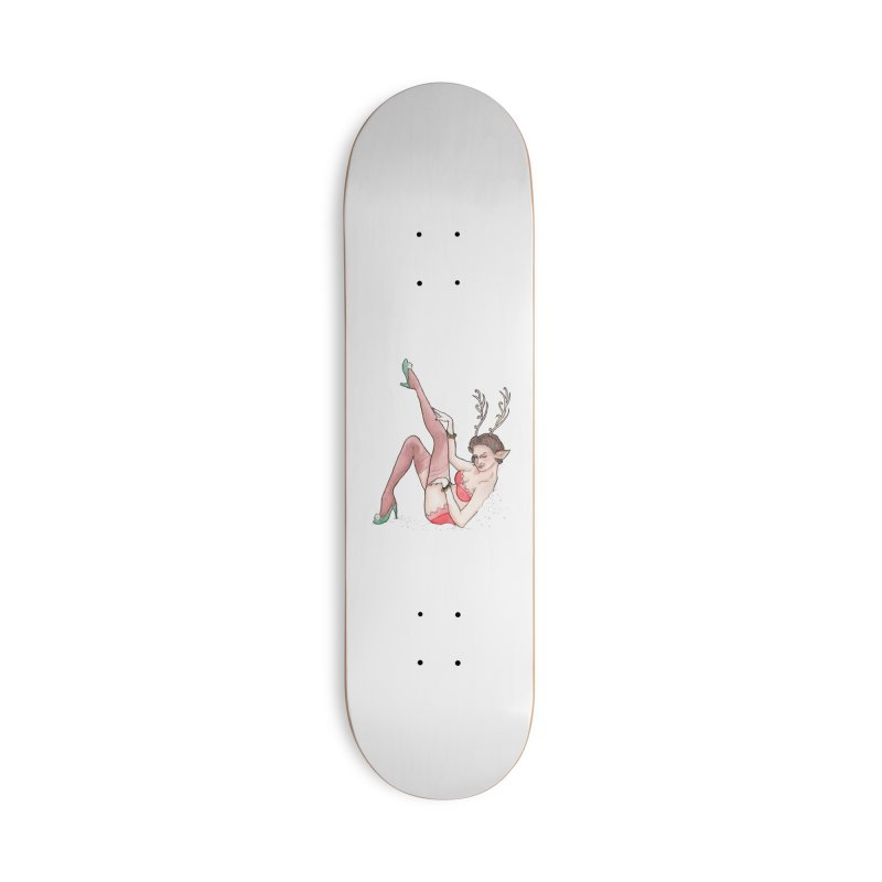 Vixen Accessories Deck Only Skateboard by JordanaHeney Illustration