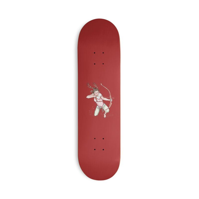 Cupid Accessories Deck Only Skateboard by JordanaHeney Illustration