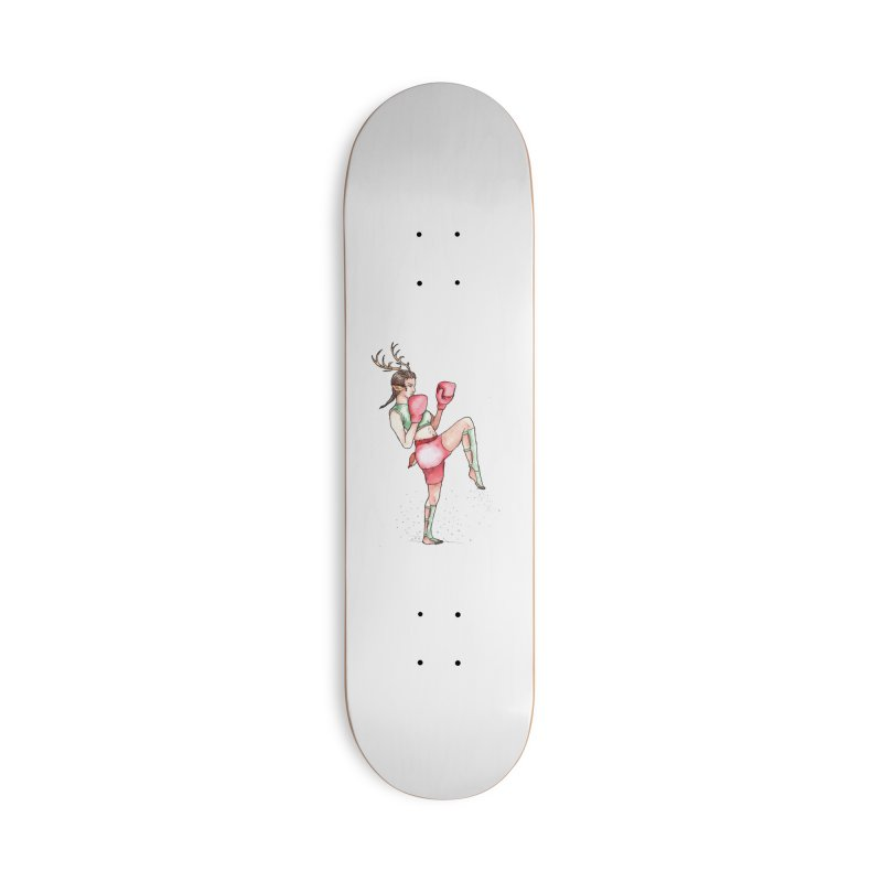 Donner Accessories Deck Only Skateboard by JordanaHeney Illustration