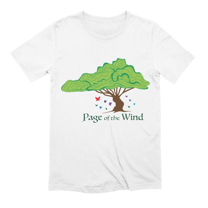 Page of the Wind Men's T-Shirt by JordanaHeney Illustration