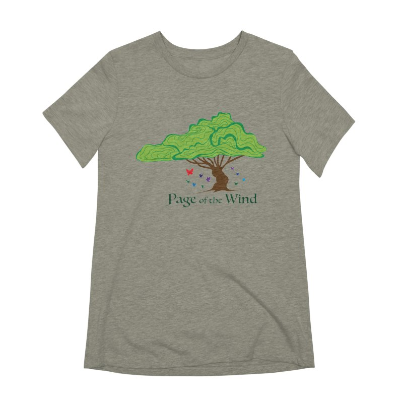 Page of the Wind Women's Extra Soft T-Shirt by JordanaHeney Illustration