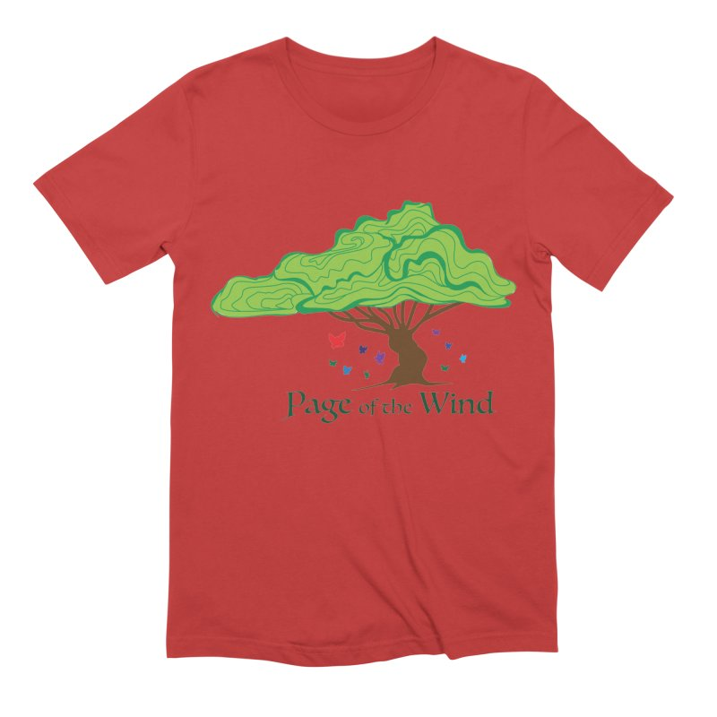 Page of the Wind Men's Extra Soft T-Shirt by JordanaHeney Illustration