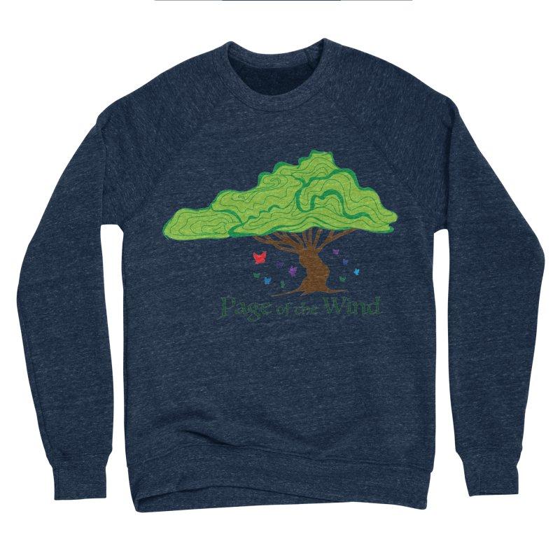 Page of the Wind Men's Sponge Fleece Sweatshirt by JordanaHeney Illustration
