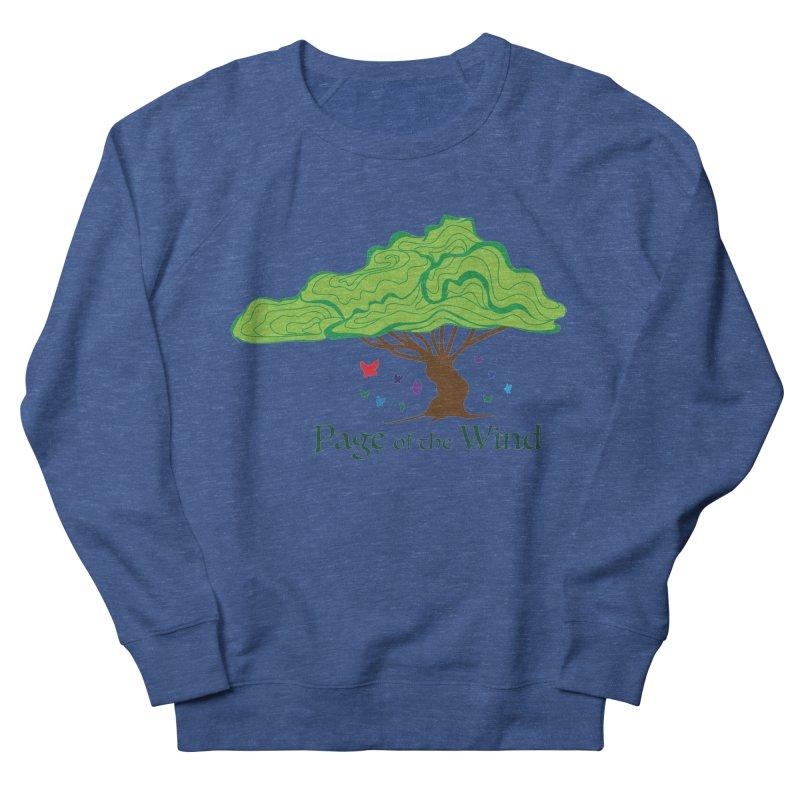 Page of the Wind Men's Sweatshirt by JordanaHeney Illustration