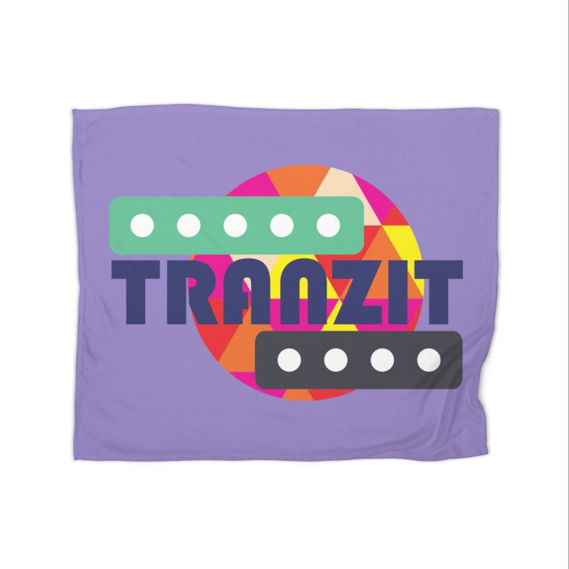 TRANZIT Home Fleece Blanket Blanket by JordanaHeney Illustration