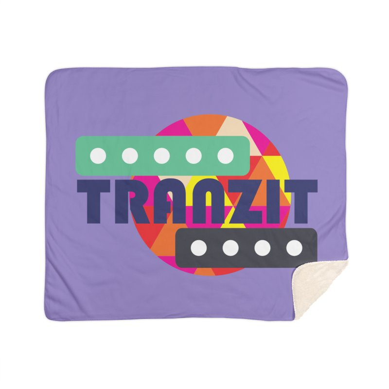 TRANZIT Home Sherpa Blanket Blanket by JordanaHeney Illustration