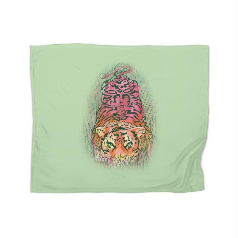 Crouch Home Blanket by JordanaHeney Illustration
