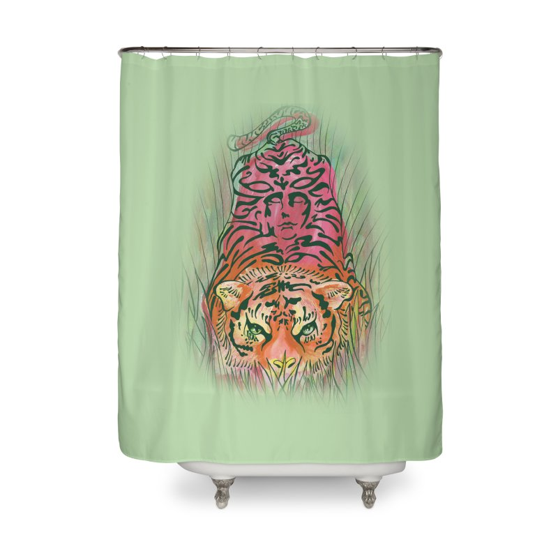 Crouch Home Shower Curtain by JordanaHeney Illustration