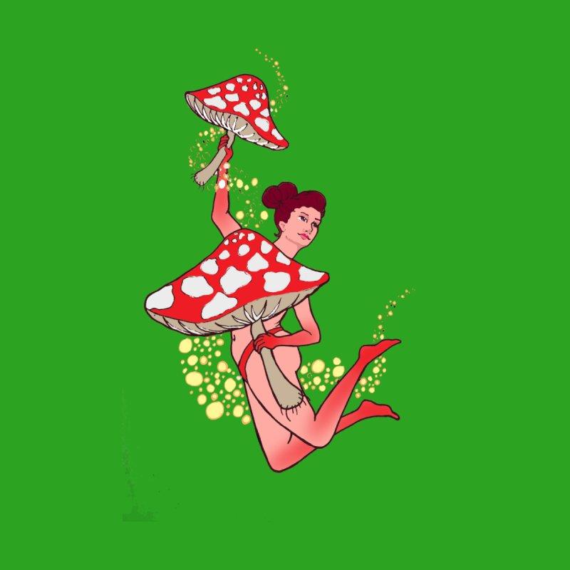 Mushroom Dancer by JordanaHeney Illustration