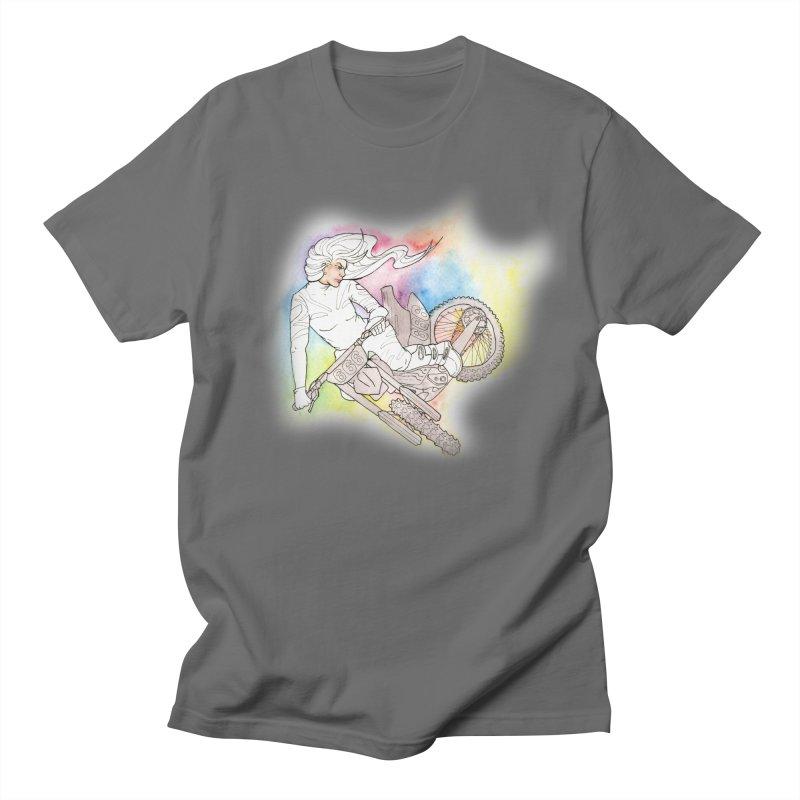 Motorcycle Maiden Men's T-Shirt by JordanaHeney Illustration