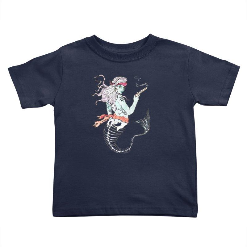 Merr Matey! Kids Toddler T-Shirt by JordanaHeney Illustration