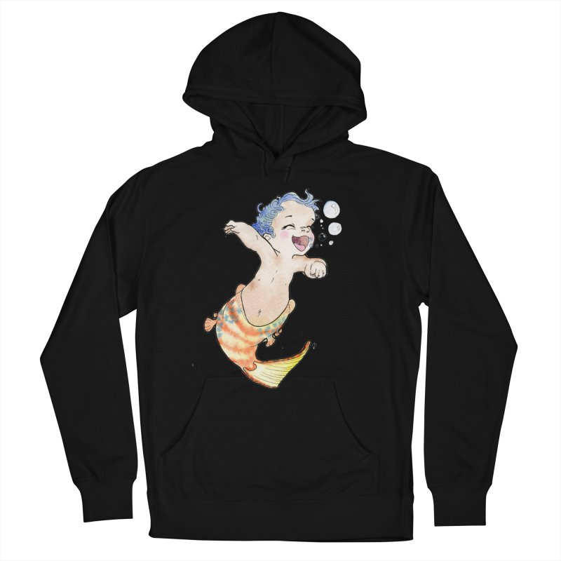 Baby-maid Women's Pullover Hoody by JordanaHeney Illustration