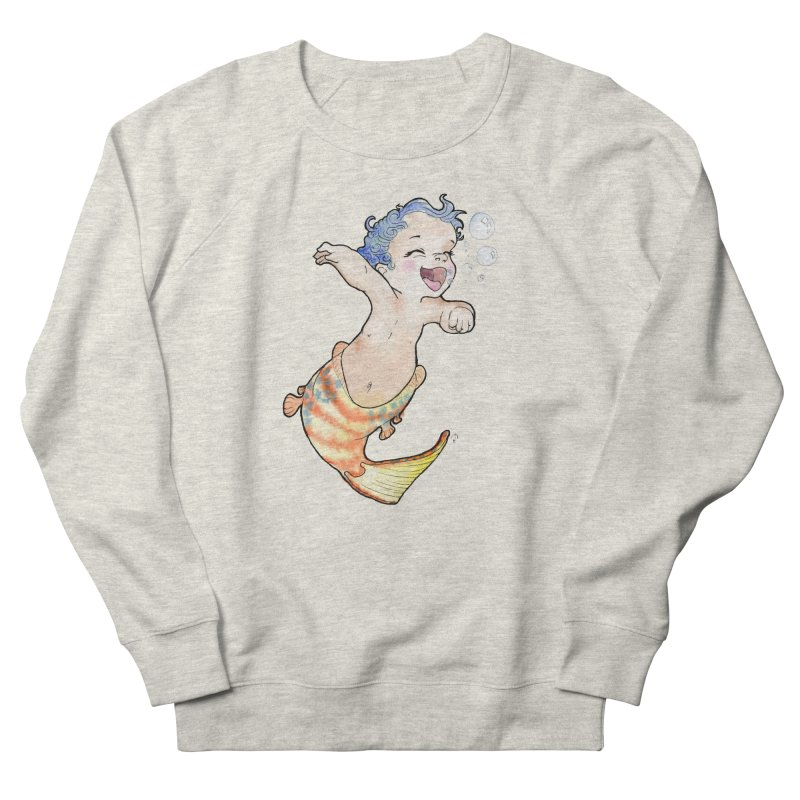 Baby-maid Men's Sweatshirt by JordanaHeney Illustration