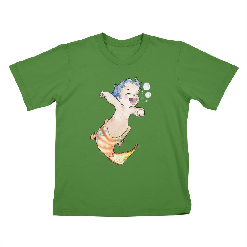 Baby-maid Kids T-Shirt by JordanaHeney Illustration
