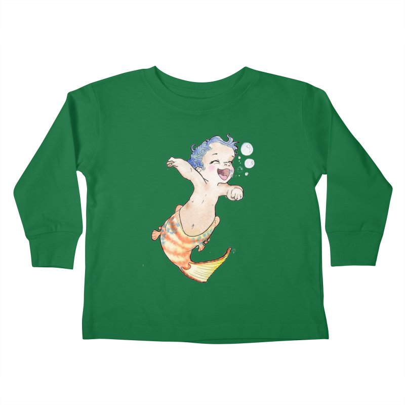 Baby-maid Kids Toddler Longsleeve T-Shirt by JordanaHeney Illustration