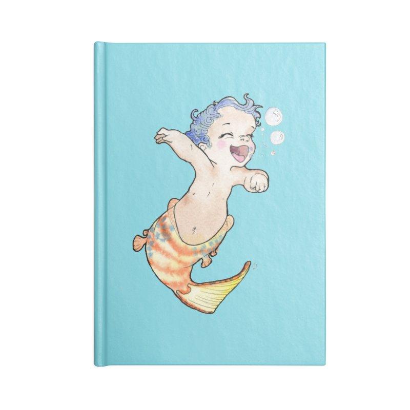 Baby-maid Accessories Notebook by JordanaHeney Illustration