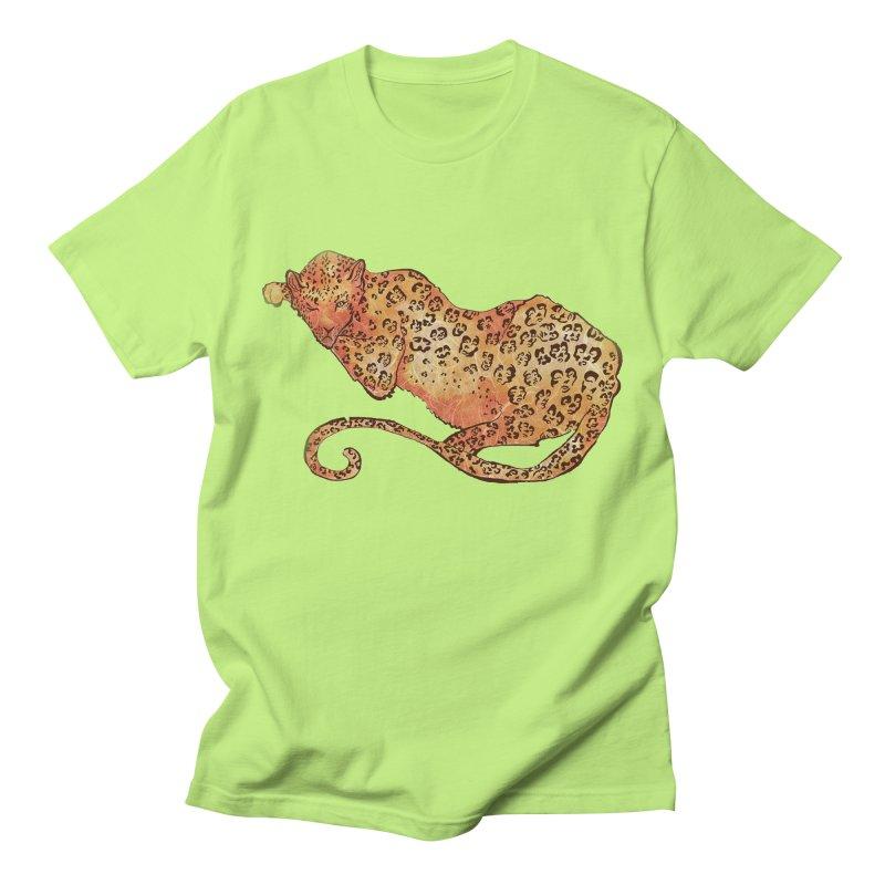 Leopard Men's T-Shirt by JordanaHeney Illustration