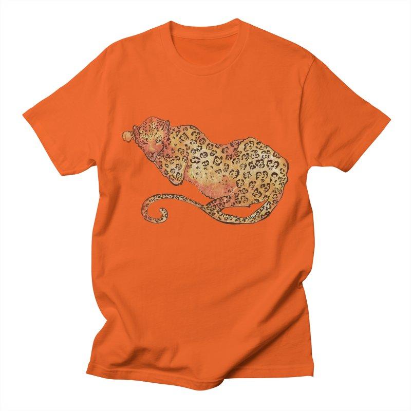 Leopard Women's Unisex T-Shirt by JordanaHeney Illustration