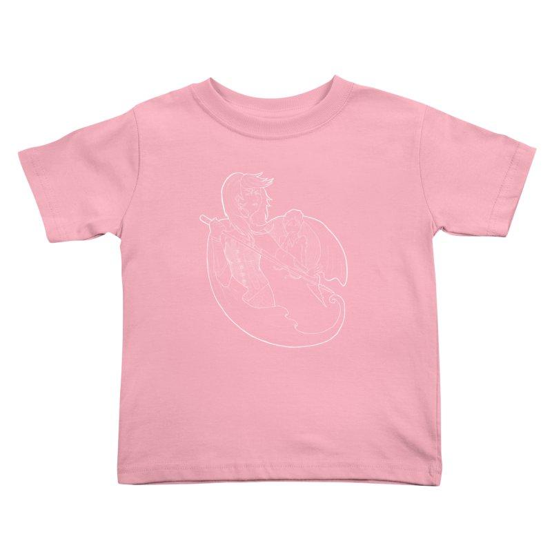 Hansel & Gretel (W) Kids Toddler T-Shirt by JordanaHeney Illustration