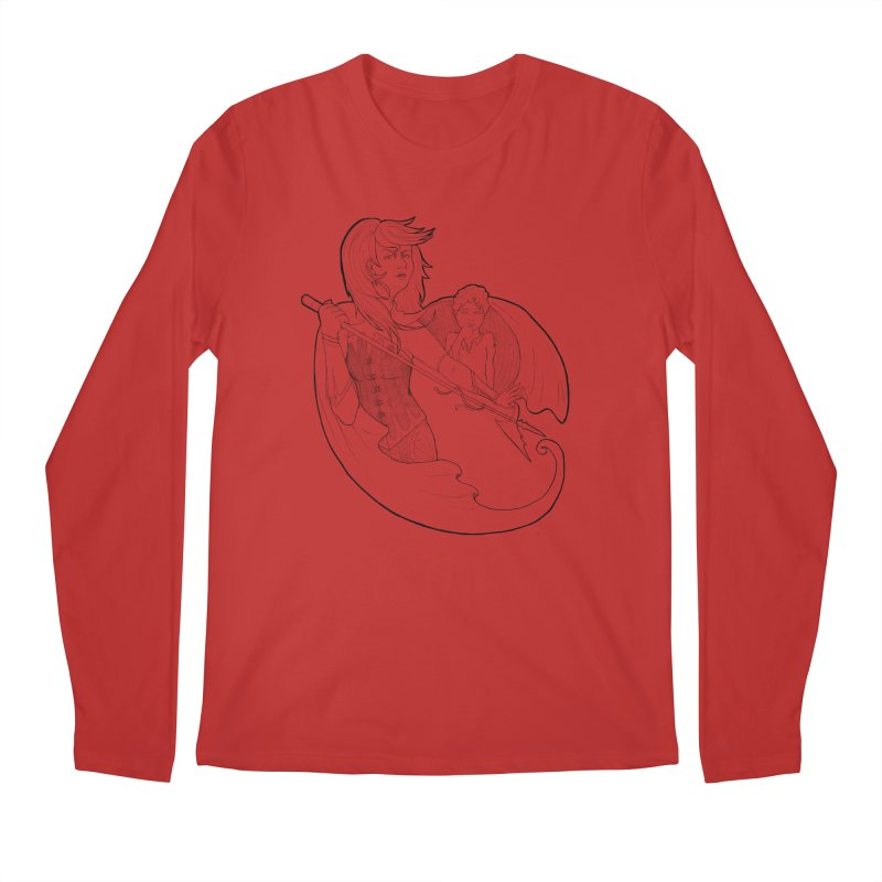 Hansel & Gretel (B) Men's Longsleeve T-Shirt by JordanaHeney Illustration
