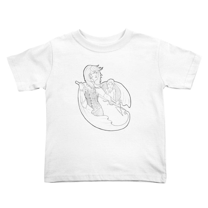 Hansel & Gretel (B) Kids Toddler T-Shirt by JordanaHeney Illustration