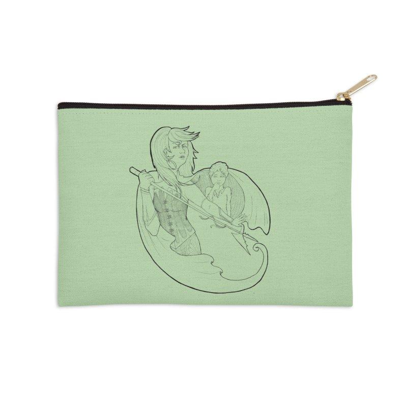 Hansel & Gretel (B) Accessories Zip Pouch by JordanaHeney Illustration