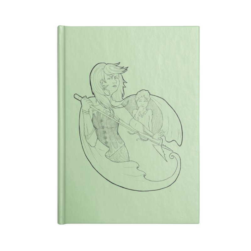 Hansel & Gretel (B) Accessories Notebook by JordanaHeney Illustration