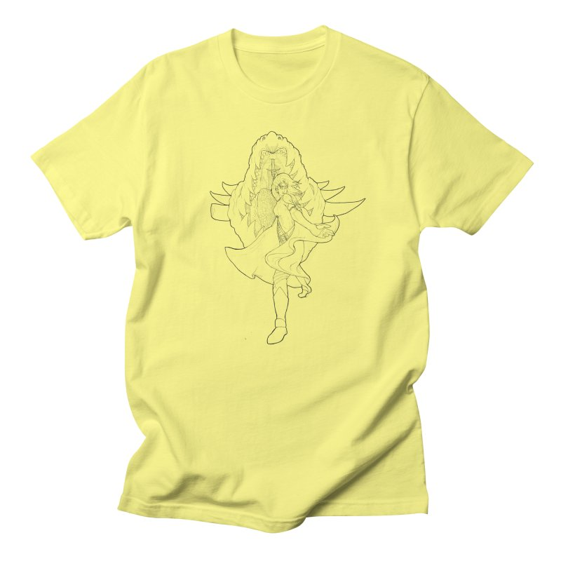 Aurora (B) Men's T-Shirt by JordanaHeney Illustration