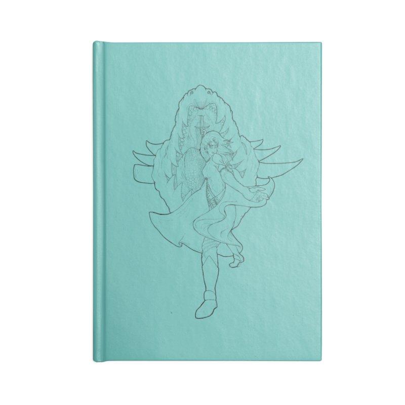 Aurora (B) Accessories Notebook by JordanaHeney Illustration