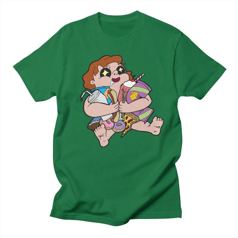 Junk Foodie Men's T-Shirt by JordanaHeney Illustration