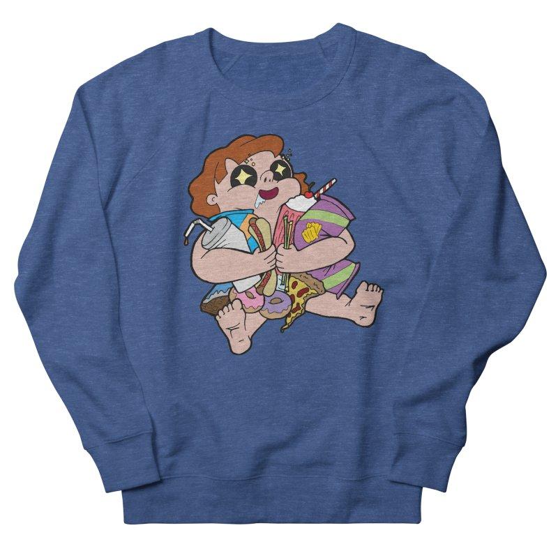Junk Foodie Women's Sweatshirt by JordanaHeney Illustration