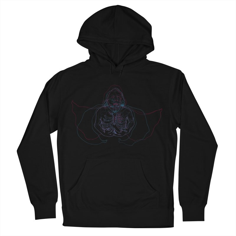 The Thunder Within Men's French Terry Pullover Hoody by JordanaHeney Illustration