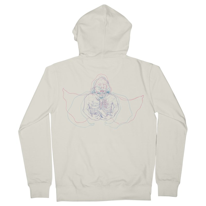 The Thunder Within Women's French Terry Zip-Up Hoody by JordanaHeney Illustration