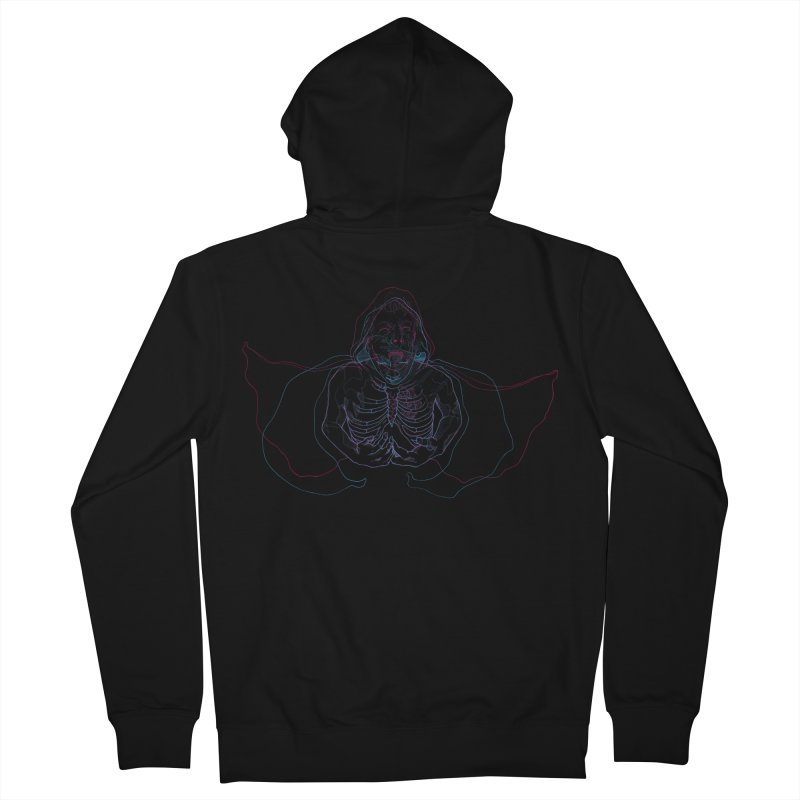 The Thunder Within Men's Zip-Up Hoody by JordanaHeney Illustration