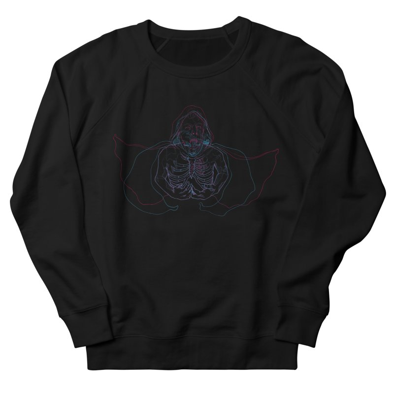 The Thunder Within Men's French Terry Sweatshirt by JordanaHeney Illustration