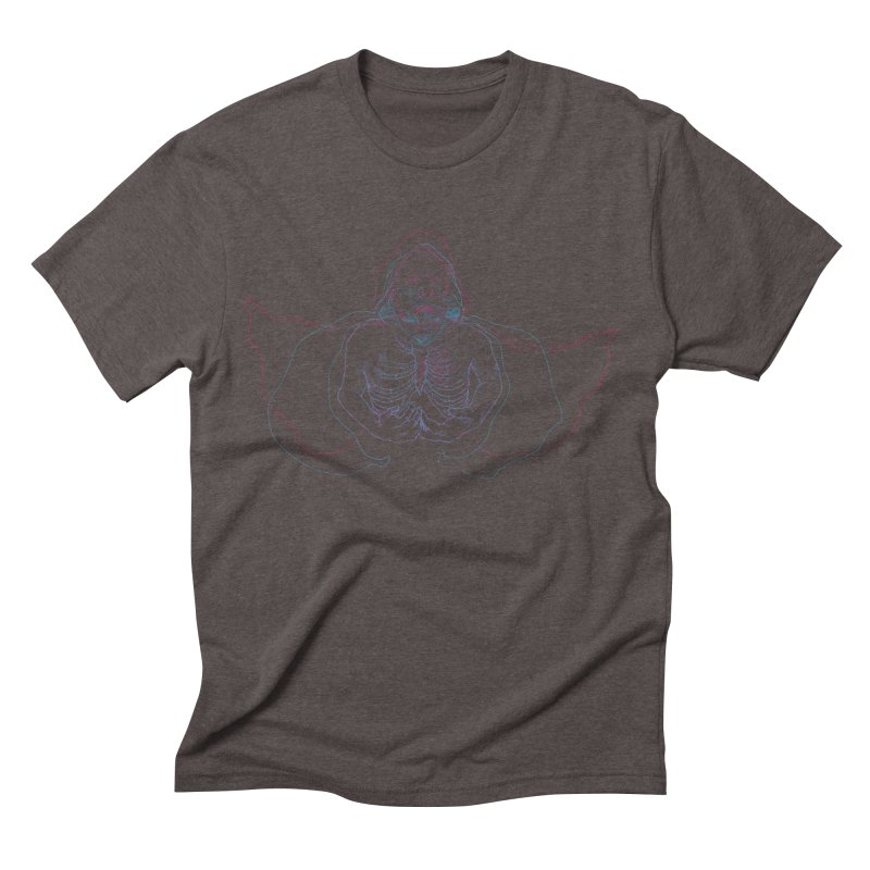 The Thunder Within Men's Triblend T-Shirt by JordanaHeney Illustration