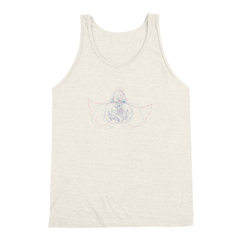 The Thunder Within Men's Triblend Tank by JordanaHeney Illustration