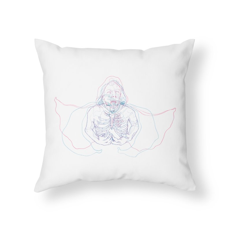 The Thunder Within Home Throw Pillow by JordanaHeney Illustration