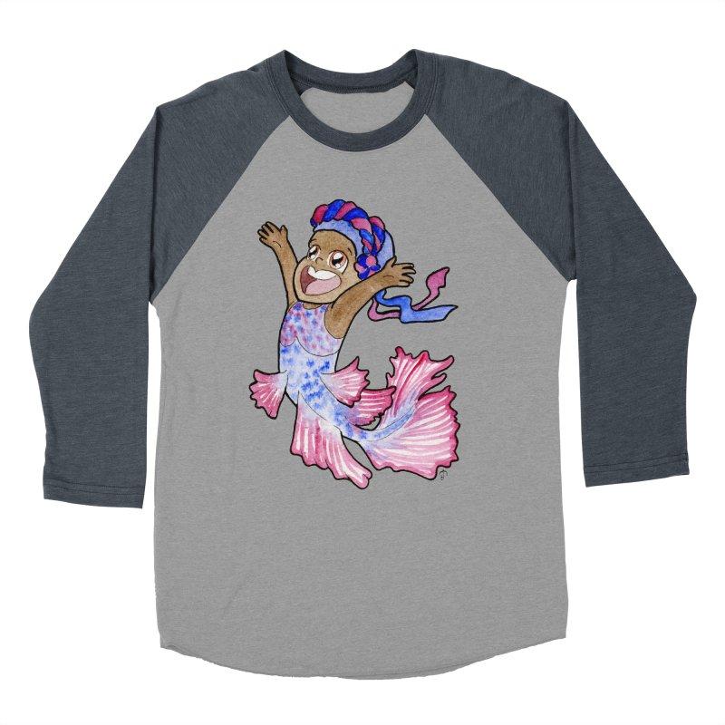 Beta Buddie Men's Baseball Triblend T-Shirt by JordanaHeney Illustration
