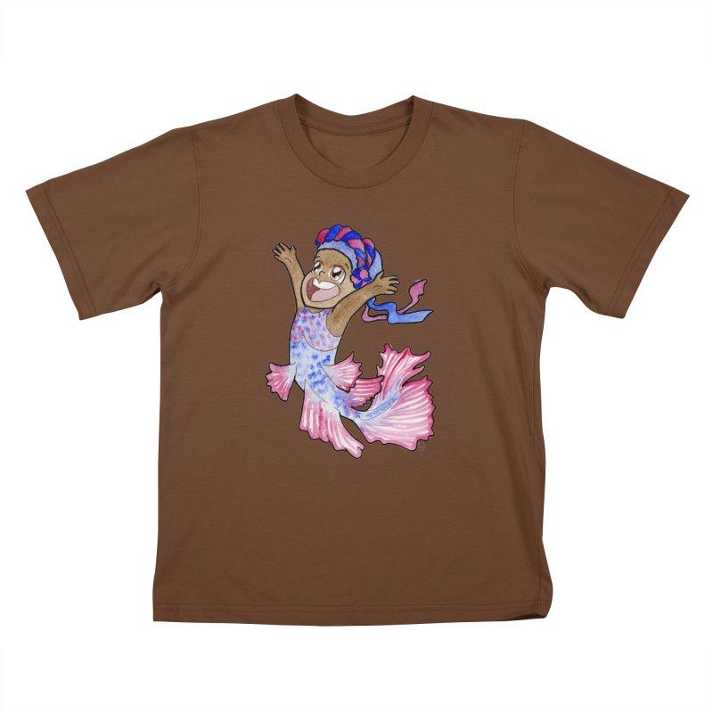Beta Buddie Kids T-Shirt by JordanaHeney Illustration